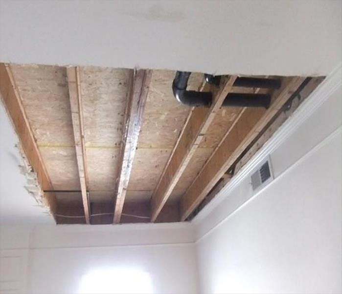 Ceiling Damaged by Water in Tucson After