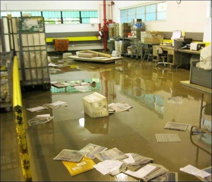 Redington Flooded Mail Room